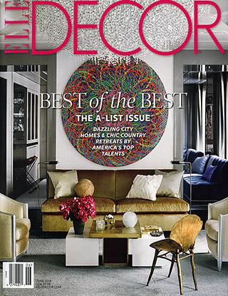 elle decor suzanne kasler - Elle Decor Magazine
