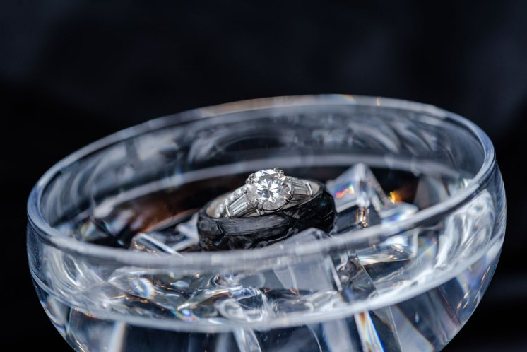 Winter Park Wedding ring shot Suzanne Lytle Photography