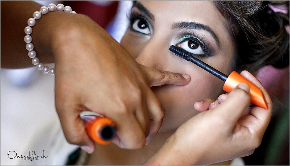 Indian Pakistani professional make-up artist Cabo