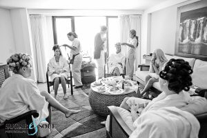 In room wedding hair and make-up Barcelo Los Cabos