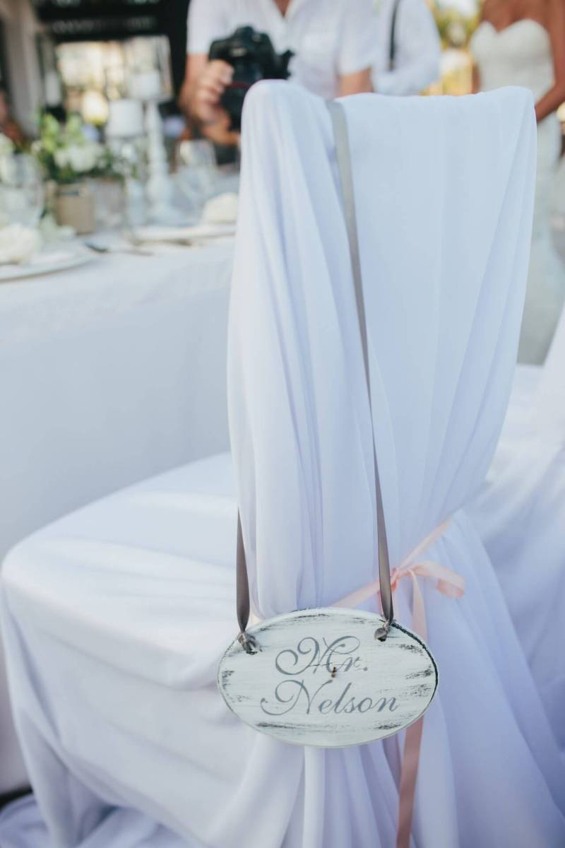 Wedding decor and rental at Cabo Azul by Linens, Things and More