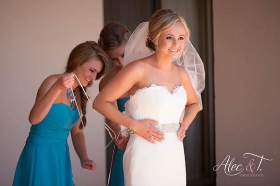 Cabo wedding hair