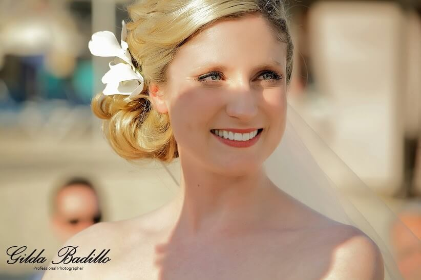 Cabo wedding hair and makeup 2