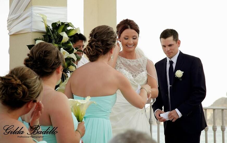 cabo wedding bride