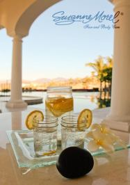 Spa bachelorette party Cabo Wedding Private Villa infused water