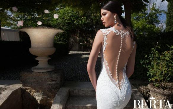sexy-plunging-v-neck-sheer-sleeveless-lace-embroidered-wedding-dress