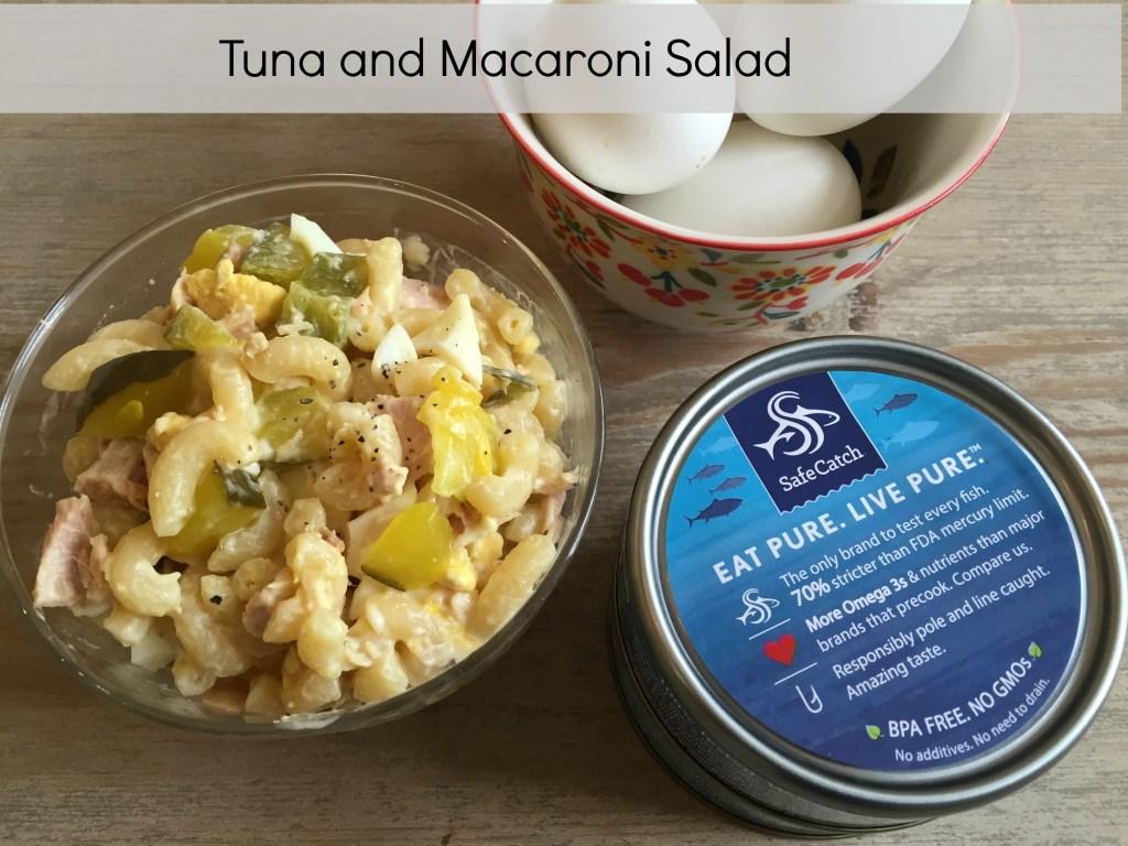 Tuna and macaroni