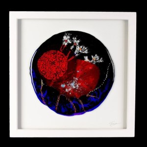 Framed Glass Art