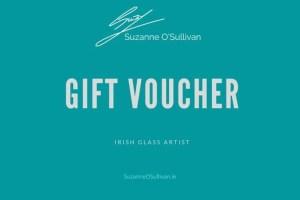 Gift Voucher Glass Art