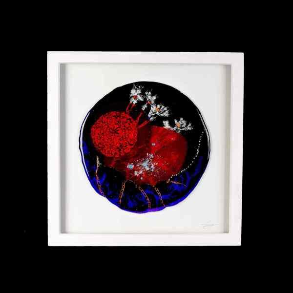 Framed Glass Art Suzanne O Sullivan