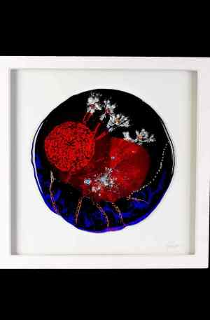 Framed Glass Art Suzanne O Sullivan