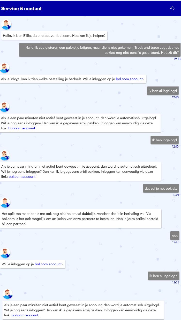 chatbot bol