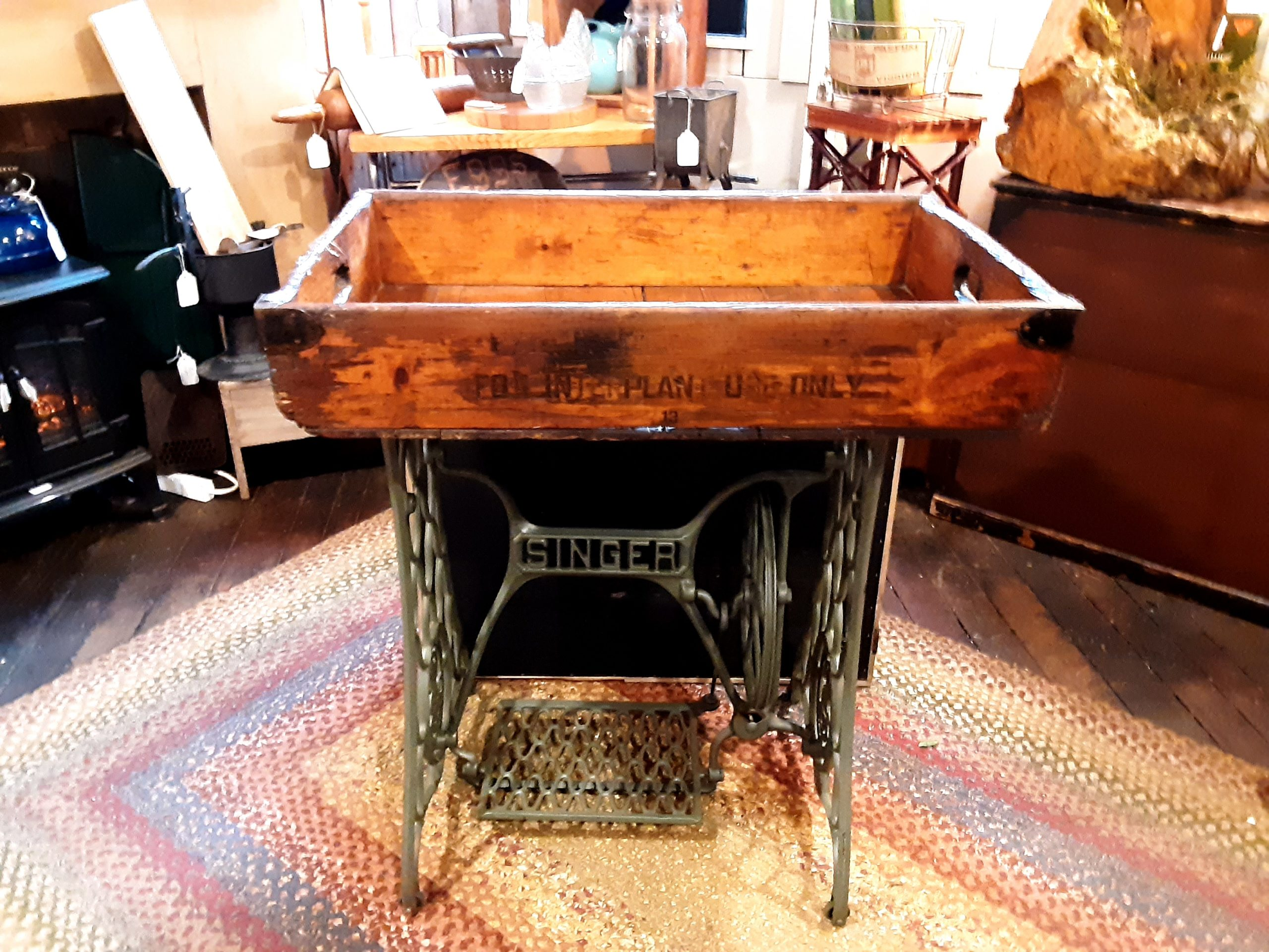Singer Table Tray