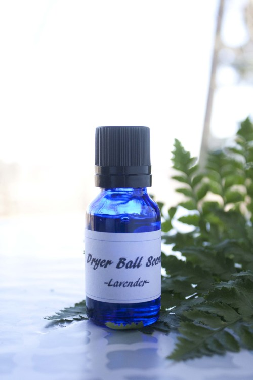 Suzanne's Soaps LLC Dryer Ball scent, customize laundry scent 100% pure essential oils -Lavender