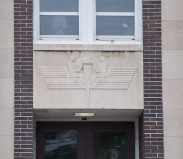 detail over door