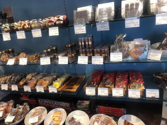 パティスリーアクイユの焼き菓子