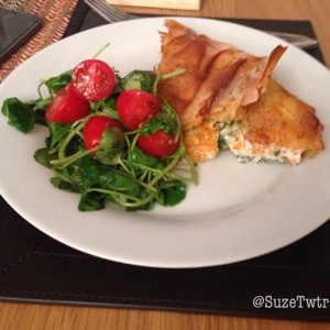 Spinach & Feta Filo Pie