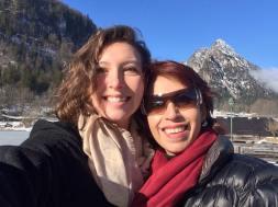 With Rocio at Lake Konigssee