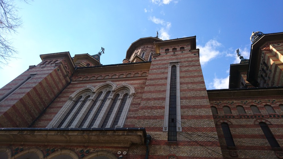 Orthodox church in Timișoara