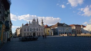 One of the town piazzas