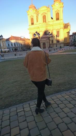Walking around Piata Unirii