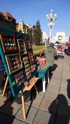 Artisan market in in Piata Libertatii