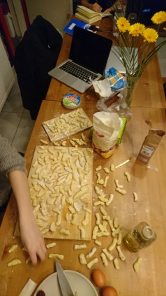 All the shaped gnocchi