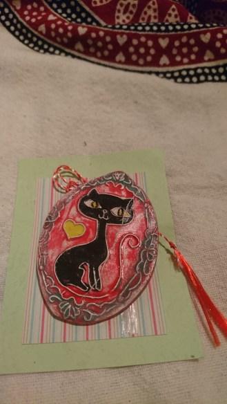 Cat pin for my grandma