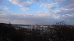 View of the Danube and Chain Bridge