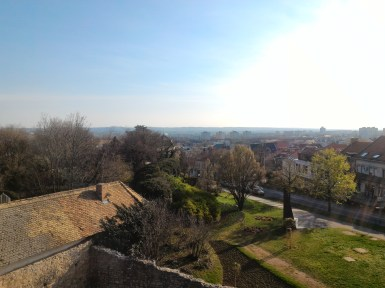 View from Bishop's Castle