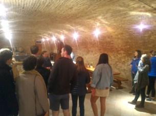 Pezsgő cellar