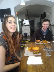 Maddie and Alex at Streat