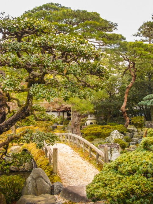 Japanese garden, Kyoto