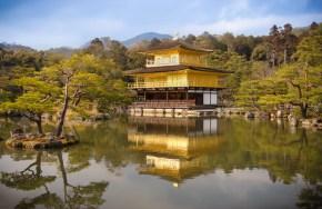 Golden Pavillon, Kyoto Japan