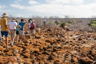 Guests Touring Seymour Island