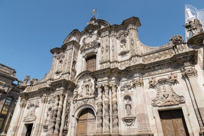 Church of the Society of Jesus in Quito, Ecuador