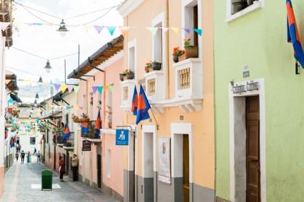 Calle La Ronda, Quito, Ecuador