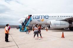Galapagos Flights at Baltra Airport
