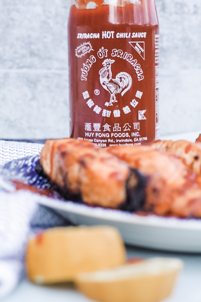 Honey Sriracha Grilled Salmon Recipe