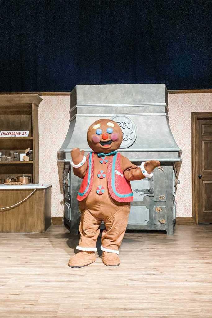 Gaylord Rockies Christmas Gingerbread Man