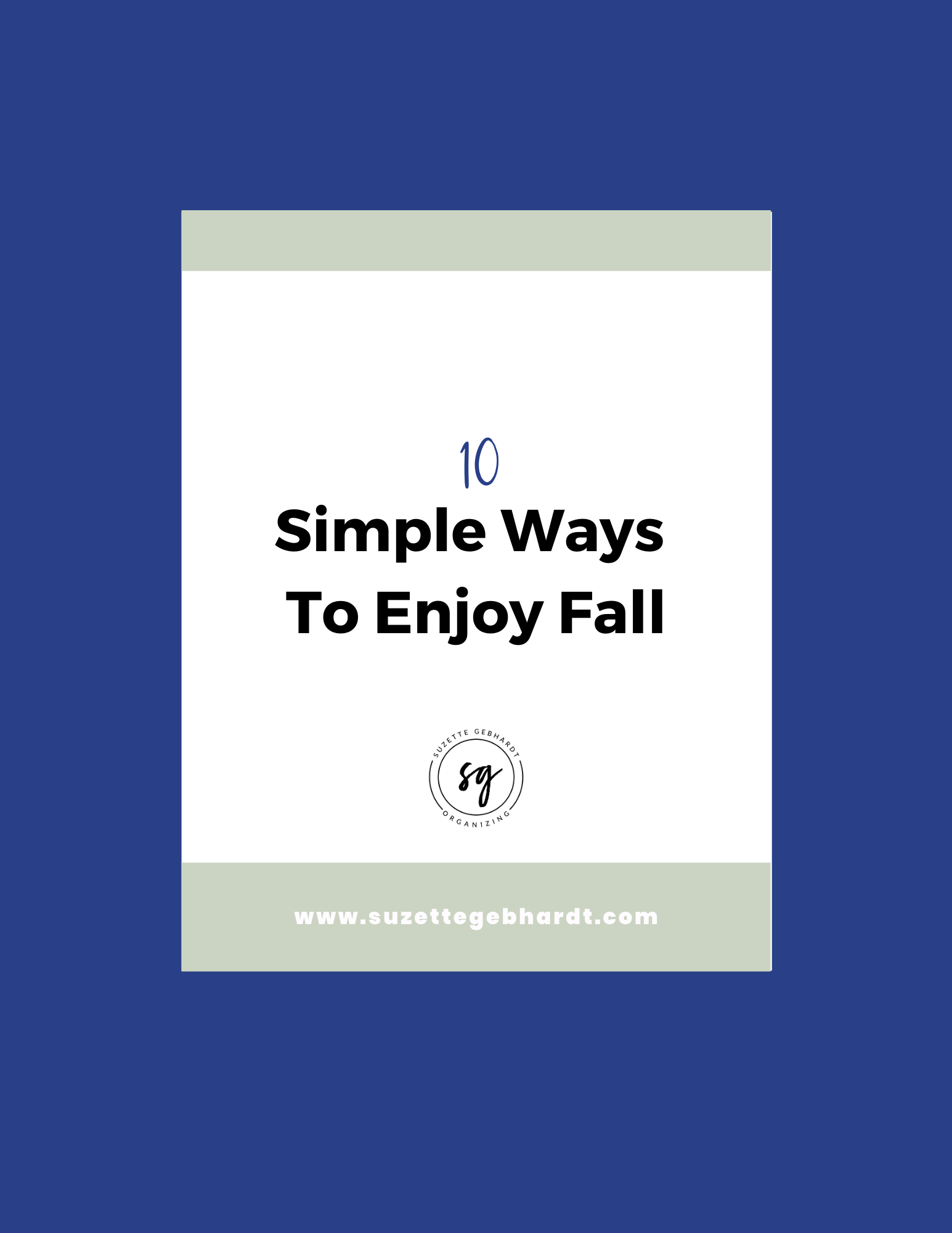 10 Simple Ways to Enjoy Fall
