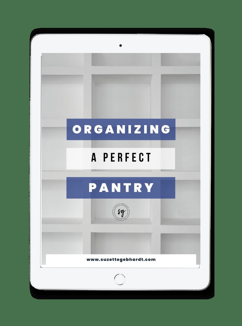 Pantry Organization Ebook