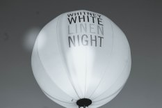 By some accounts, as many as 45,000 visitors participated in the mega art event called White Linen Night in NOLA