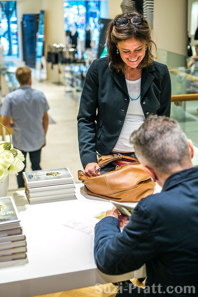 Simon Doonan @ Barneys New York in Seattle for Book Signing of '