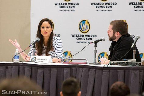 Wizard World Portland Comic Con Sarah Wayne Callies