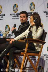 Wizard World Portland Comic Con Ming Na Wen Brett Dalton