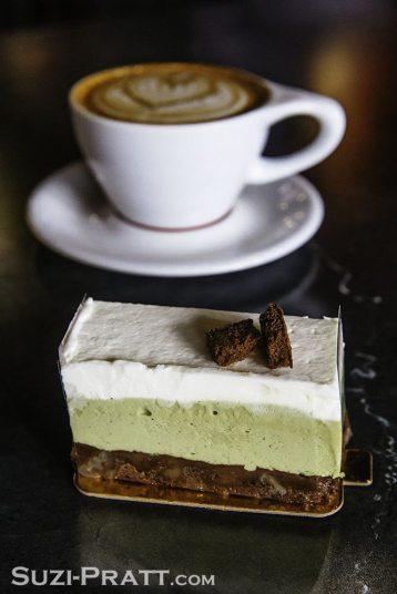 Aura Bakery food and dessert photography
