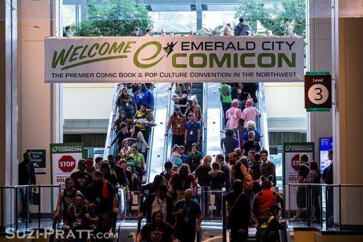 ECCC Emerald City Comicon 2015