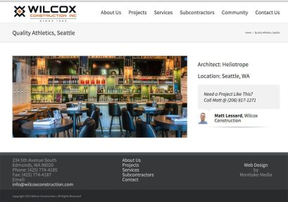 Seattle architectural photographer