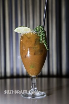 Bloody Mary cocktail Seattle food photography